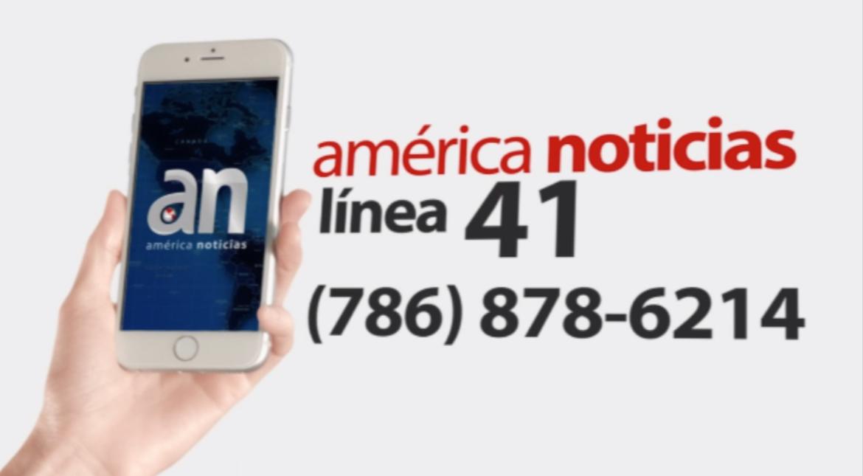 America Noticias linea 41 banner