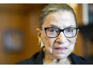 murio a los 87 anos ruth bader ginsburg, historica jueza de la corte suprema de eeuu