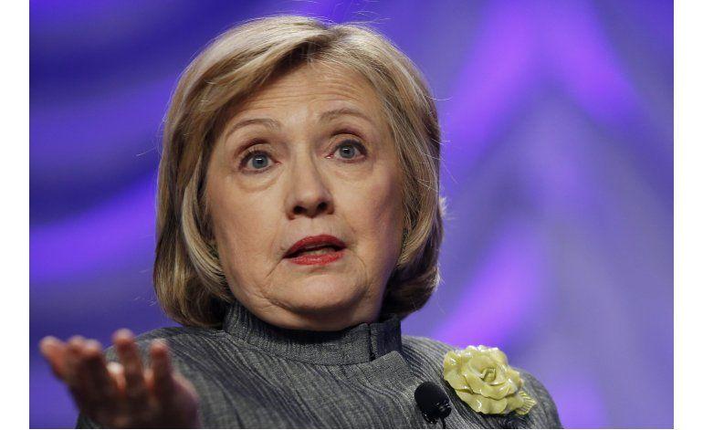 Hillary Clinton dice pidió fin de embargo a Cuba
