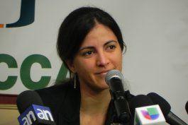 Rosa María Payá clama por el esclarecimiento de la muerte de su padre, el disidente Oswaldo Payá.
