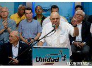 la oposicion venezolana advirtio sobre un