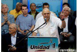 La oposición venezolana advirtió sobre un golpe de Estado técnico del chavismo