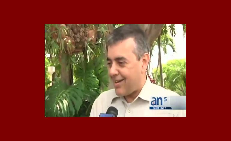 David Rivera niega las acusaciones emitidas por Ana Alliegro en su contra