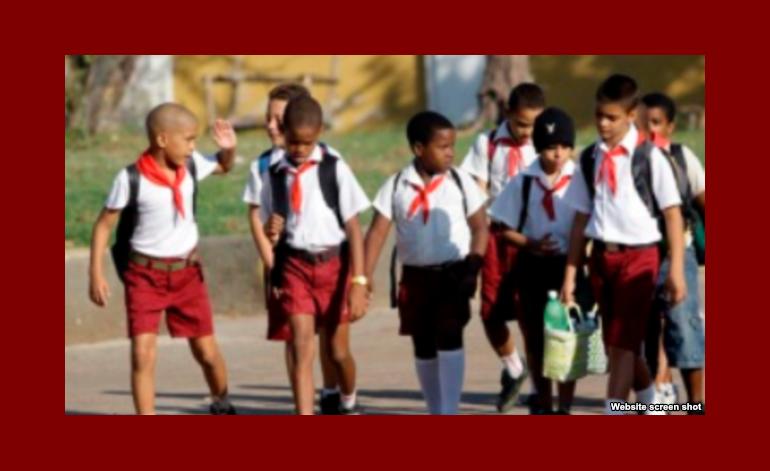 Comienza el nuevo curso escolar en Cuba con la matricula más baja y pocos maestros