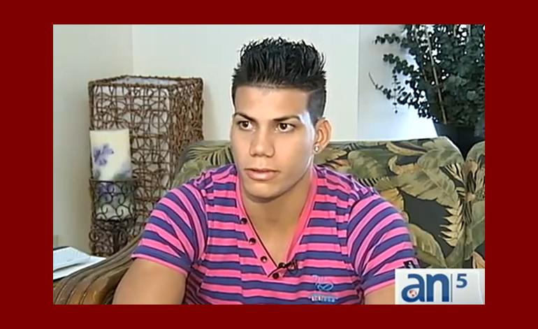 Llega a Miami promesa de la gimnasia cubana