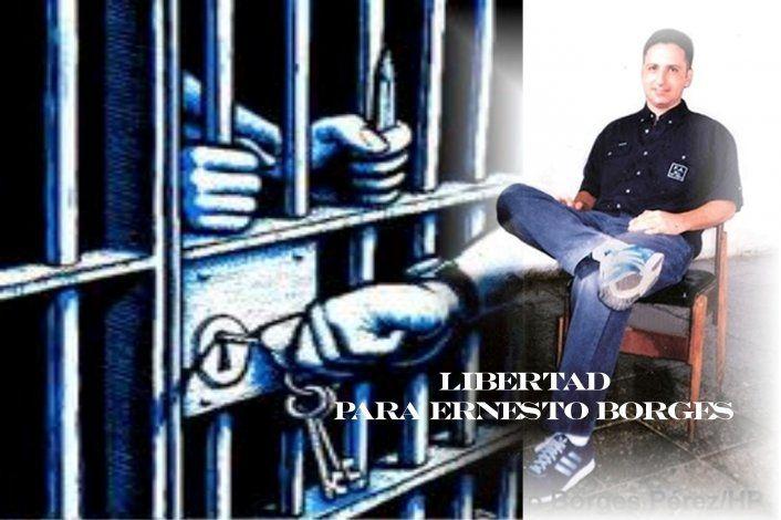 ¿Estará Ernesto Borges en la lista de presos por liberar?