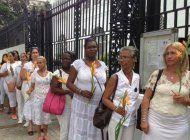 arrestan a damas de blanco en zona centrica de la habana