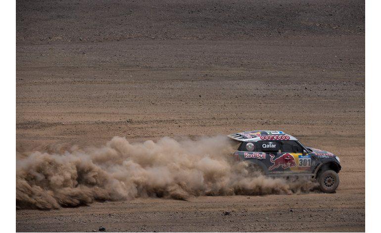 Dakar: All-Attiyah arrasa con todo; gana etapa y se aleja