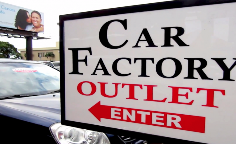 las novedades de carfactory outlet video autos carfactory miami. Black Bedroom Furniture Sets. Home Design Ideas