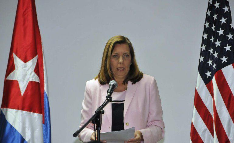 Josefina Vidal Ferreiro, directora para América del Norte de la Cancillería cubana.