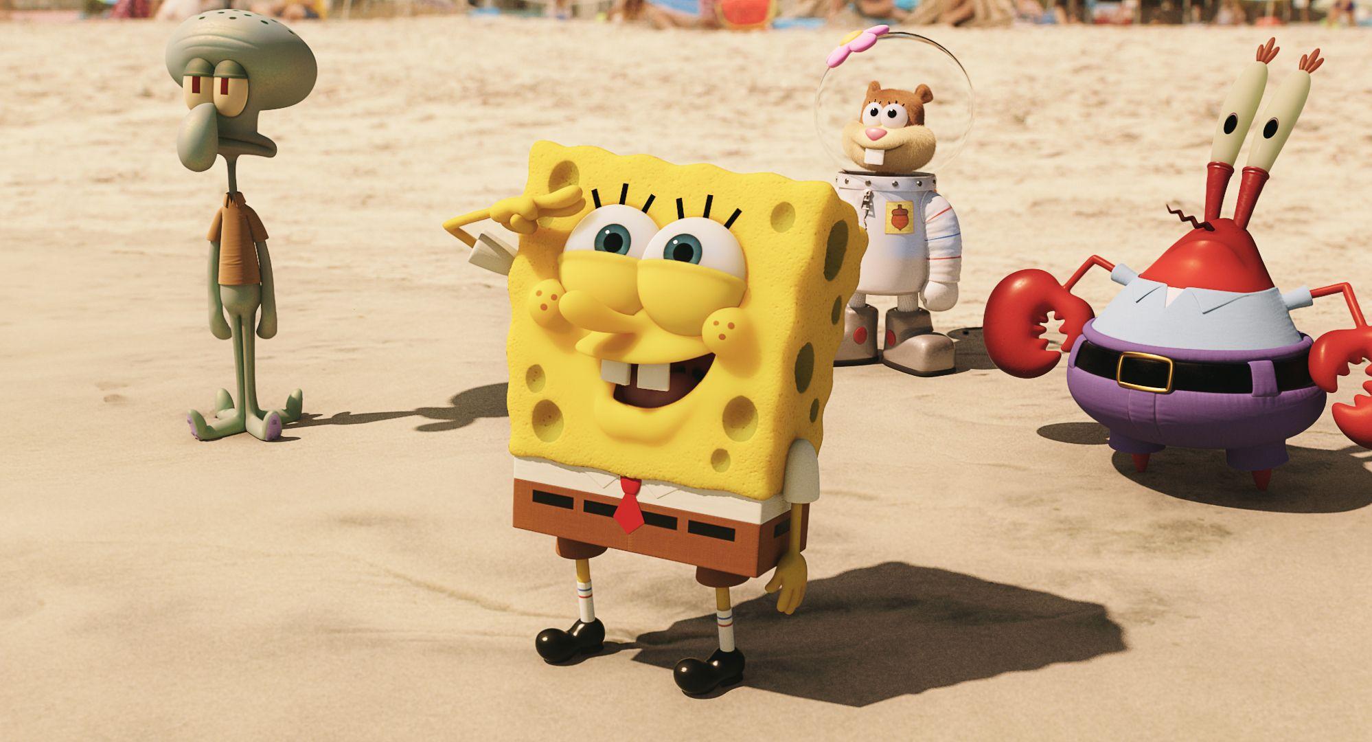 SpongeBob conquista taquillas en EEUU y Canadá