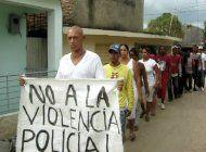 guantanamo: agreden en plena calle a adolescente hija de opositores