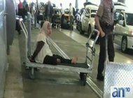 tension en el aeropuerto internacional de miami