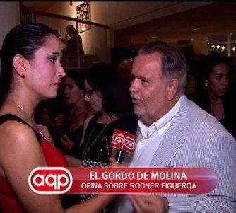El Gordo De Molina sobre Rodner: