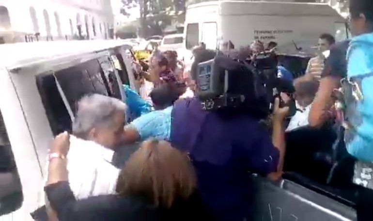 Castristas atacan a opositores cubanos en Panamá