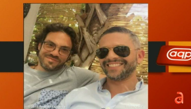 Rodner Figueroa reaparece con su pareja