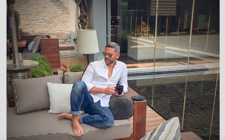 Rodner Figueroa cambia de look radicalmente dejándose las canas y la barba
