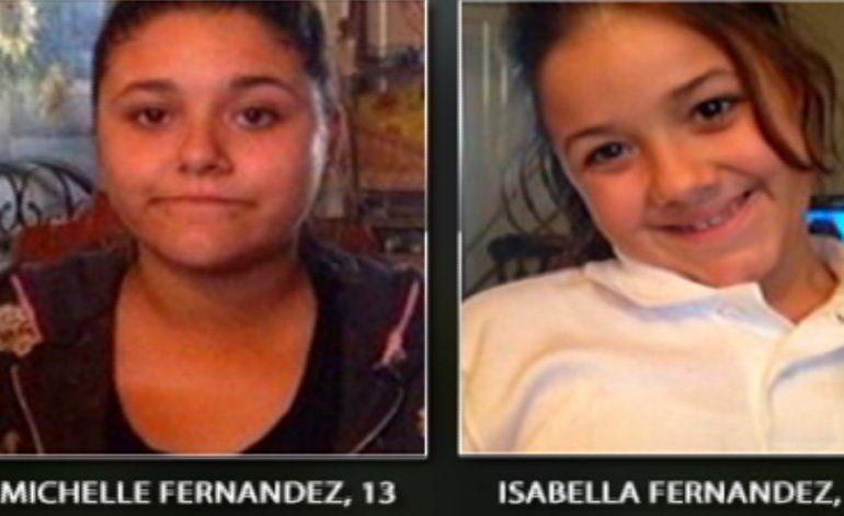 Dos hermanas de 13 y 19 años se encuentran desaparecidas