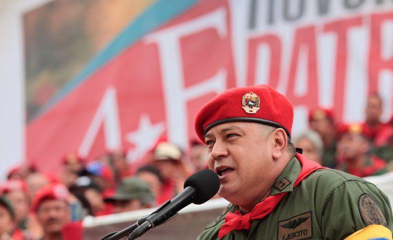 Diosdado Cabello, número dos del régimen venezolano, confirmó que contrajo coronavirus