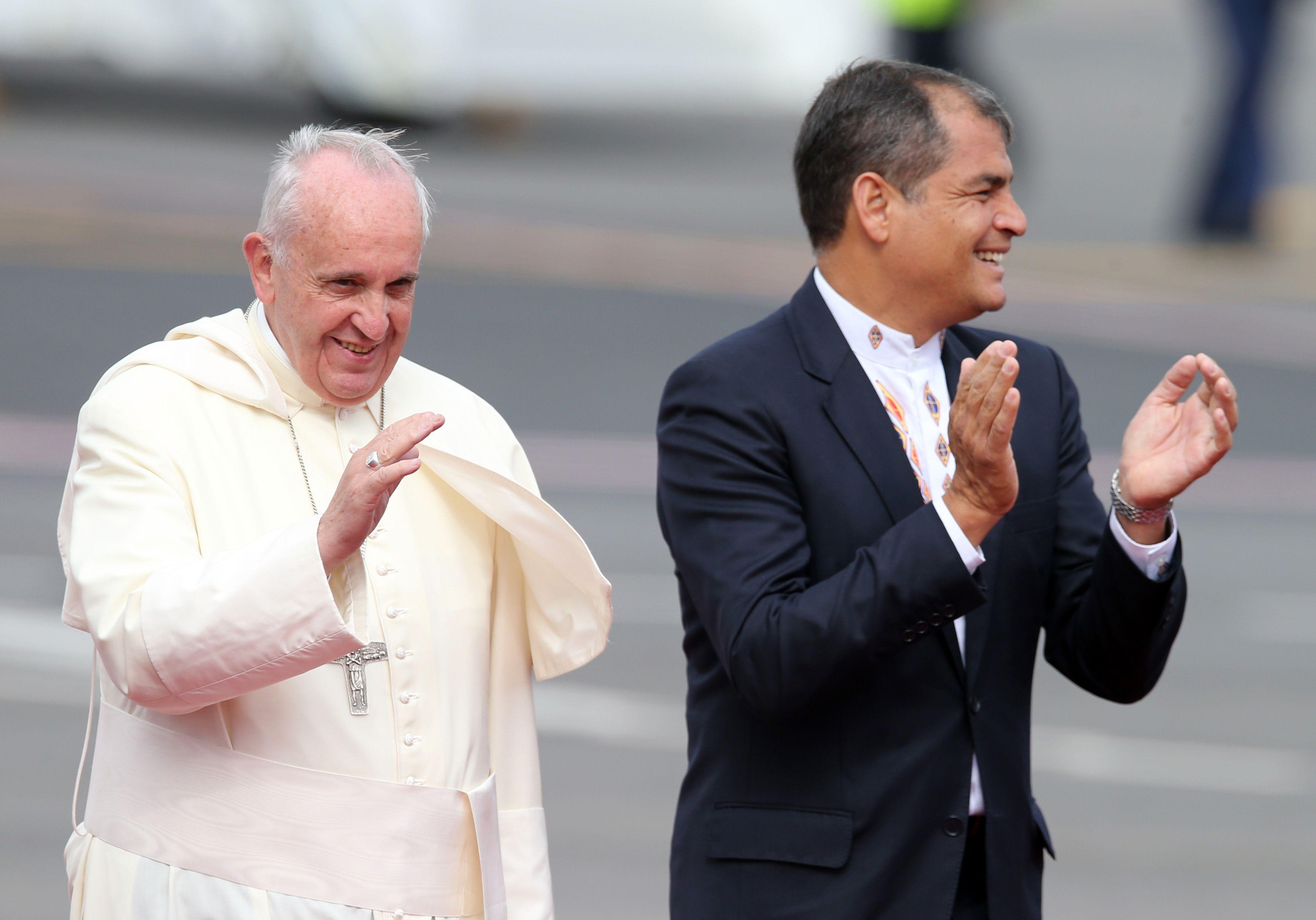 Papa Francisco Ecuador Papa Francisco Llama al