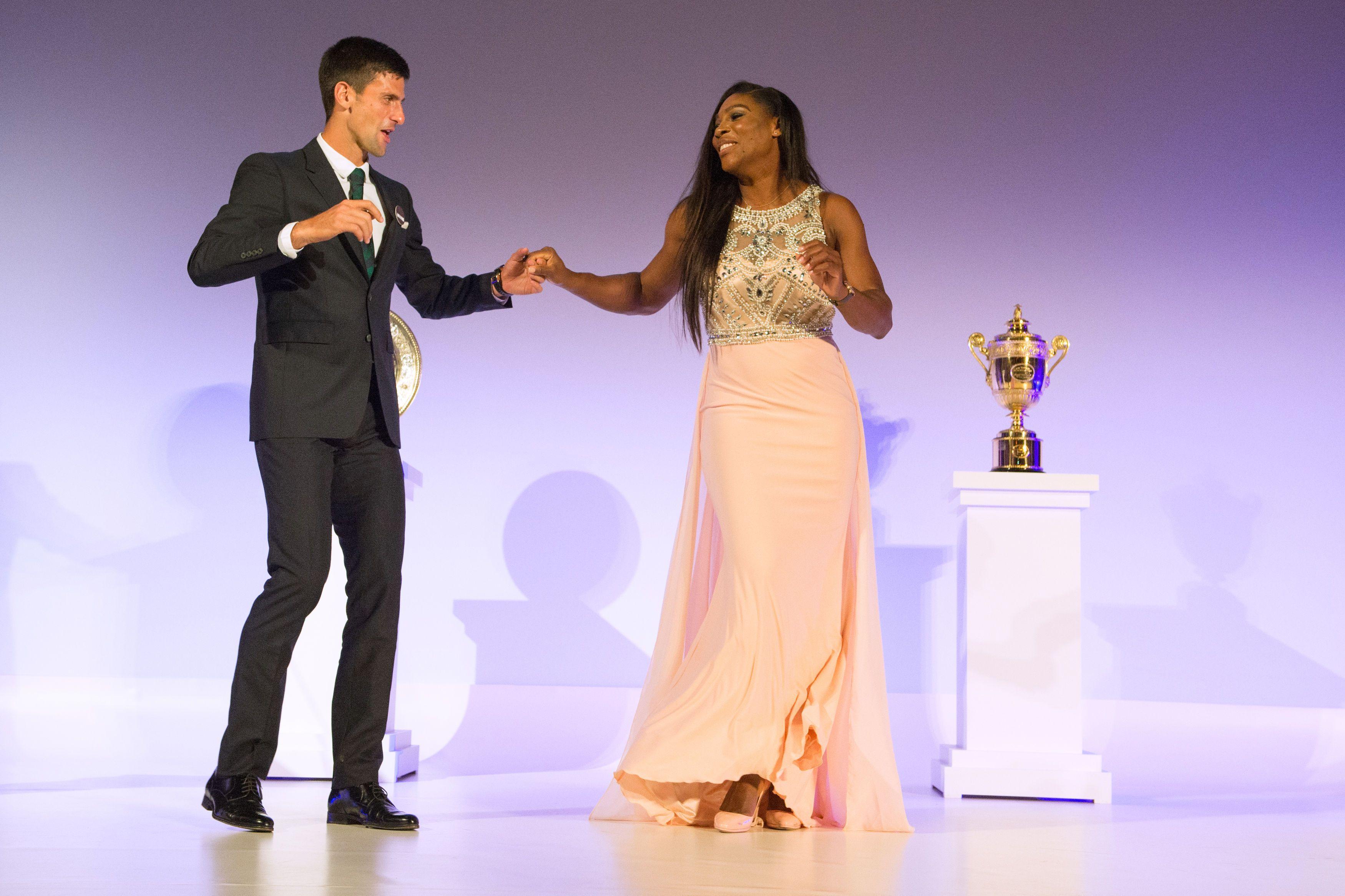 Djokovic y Williams los mejores; Muguruza la revelación