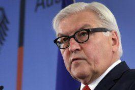 El ministro alemán de Exteriores, Frank-Walter Steinmeier.