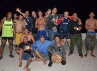 veinticuatro balseros cubanos llegan a cayo hueso