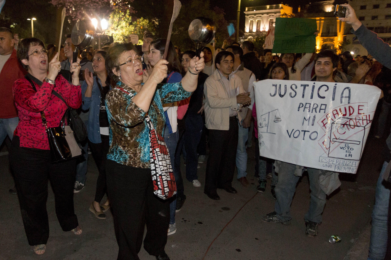 Gobierno argentino denuncias de fraude vienen del exterior for Gobierno exterior
