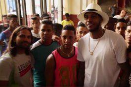 Anthony dijo que no pensaba que tenía tantos admiradores en Cuba.