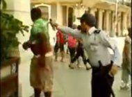 arresto con gas pimienta en la habana
