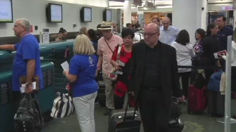 Peregrinos de Miami parten hacia Cuba