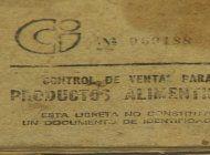 hasta mil pesos por una libreta de racionamiento en cuba