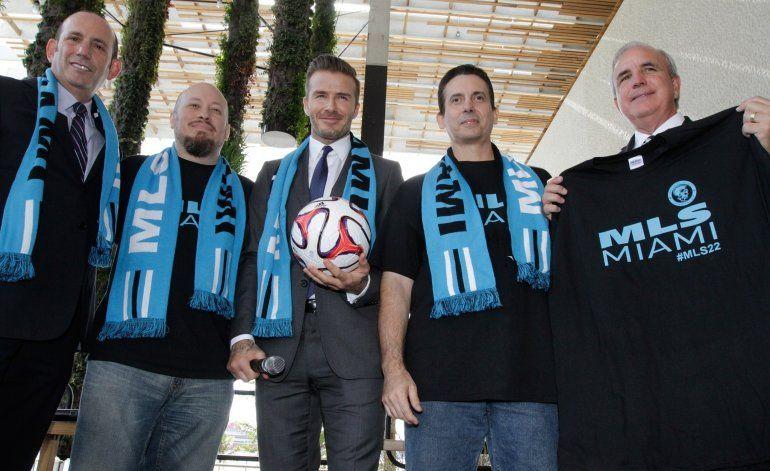 Futuro del estadio de Beckham en las manos de los vecinos de Overtown