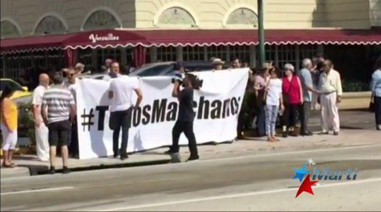 Miami y New York #TodosMarchamos en apoyo a los activistas en Cuba