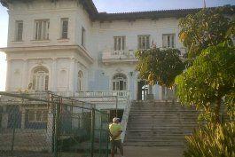 Antiguo Vedado Tennis Club, en La Habana. Actualmente círculo social José Antonio Echevarría.