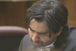 Noveno día de juicio contra Derek Medina