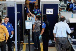 implementan nuevas medidas de seguridad en varios aeropuertos del pais