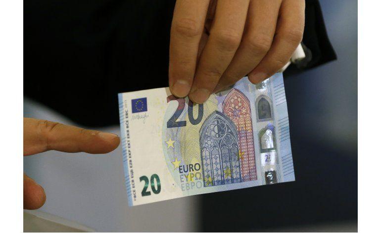 Europa tiene un nuevo billete de 20 euros, más seguro