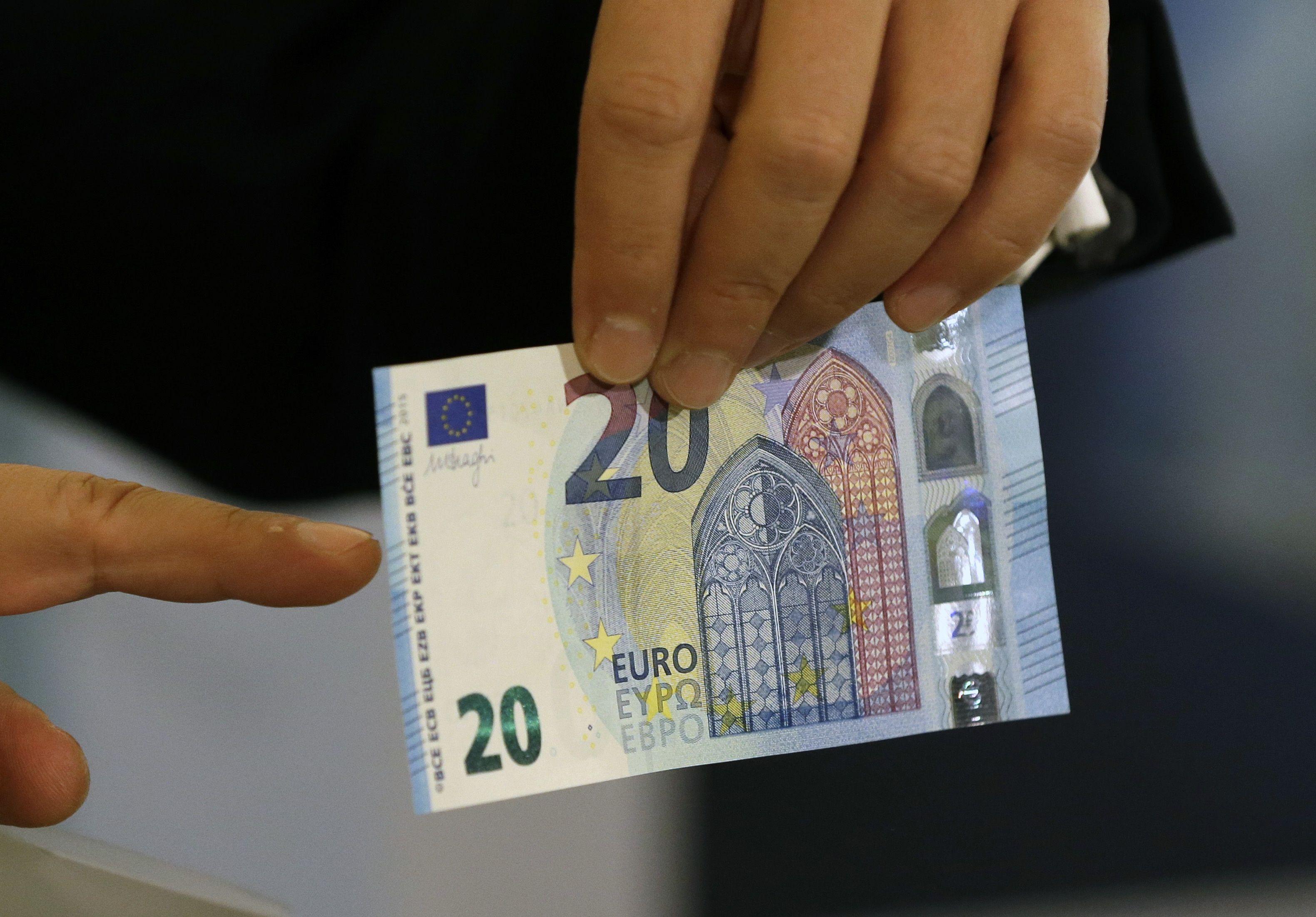 Europa Tiene Un Nuevo Billete De 20 Euros Mas Seguro