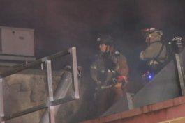 Voraz incendio provoca daños significativos en un supermercado