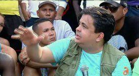 Carlucho cuenta su experiencia en la visita a los campamentos de cubanos varados en Costa Rica