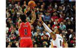 Butler anota 22, Bulls ganan a Blazers en el regreso de Rose