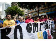hechos violentos empanan la contienda electoral en venezuela