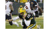 Cutler y Bears derrotan a Packers bajo la lluvia