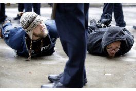 Protesta en Chicago por muerte de adolescente negro