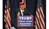 Trump minimiza a sus adversarios Rubio y Bush en su estado