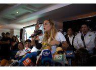lilian tintori rechaza proteccion del gobierno de venezuela