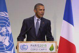 Presidente Obama participa en la XXI Conferencia internacional sobre el cambio climático