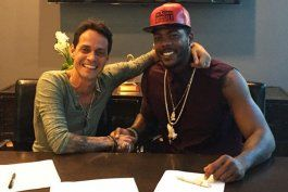 Aroldis Chapman tendrá a Marc Anthony como su nuevo agente