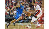 Mavericks ganan a Trail Blazers en el regreso de Matthews